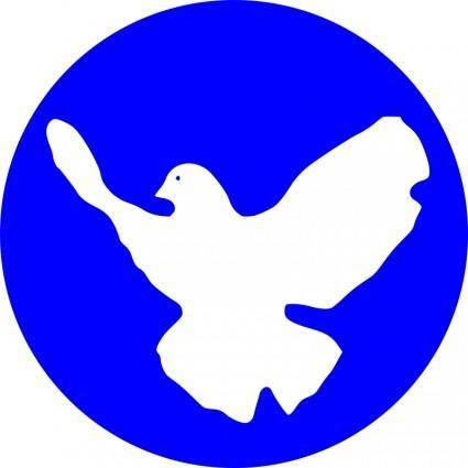 free vector White dove