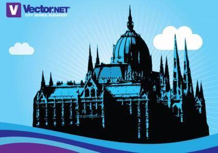 free vector Budapest Hungarian Parliament