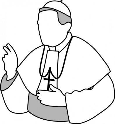 Aj Pope clip art