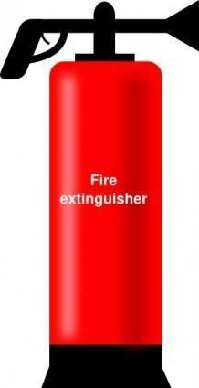 free vector Extinguisher clip art