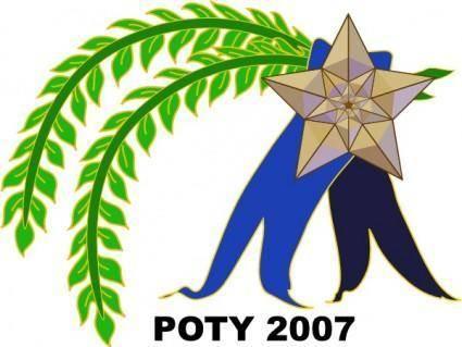 free vector Poty Ribbon clip art