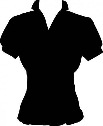 free vector Clothing Women Cute Blouse clip art