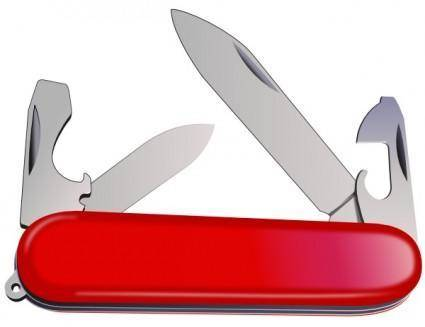free vector Swiss Army Knife clip art