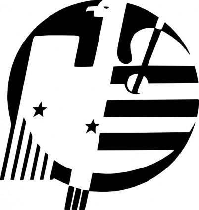 free vector American Eagle clip art