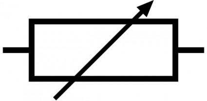 free vector Variable Resistor clip art
