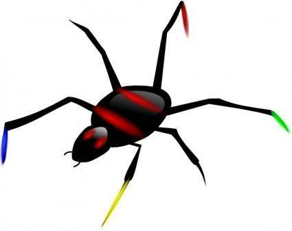 free vector Insect Spider clip art