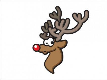 free vector Rudolph
