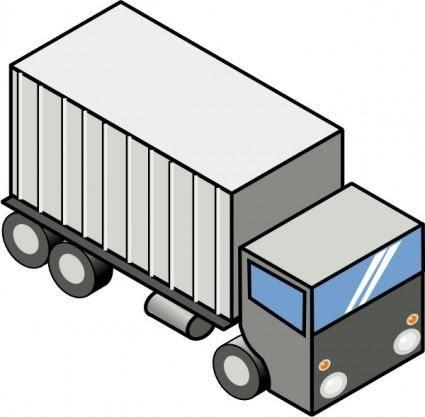 Iso Truck clip art