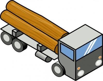 3d Truck clip art