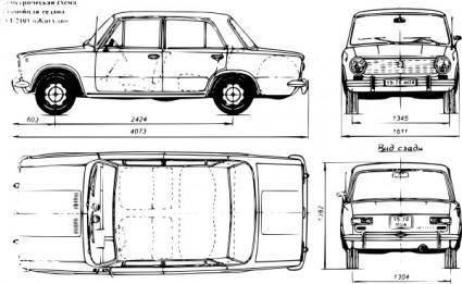 free vector Lada Car clip art