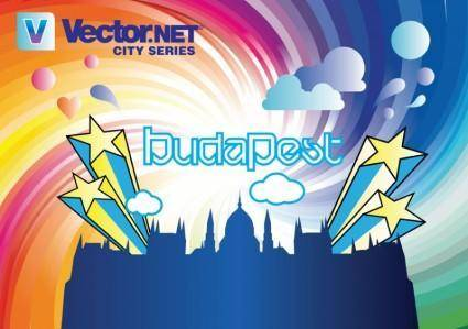 free vector Budapest City