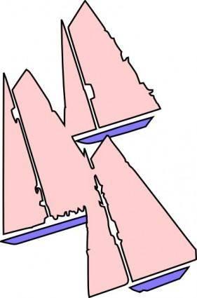 Sailing Boats clip art