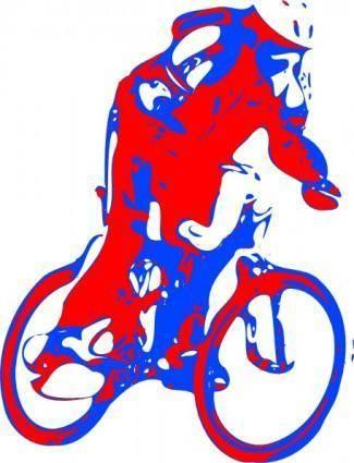 Bike Rider clip art
