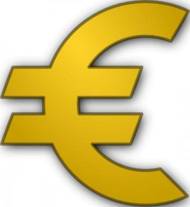 free vector Euro Sign clip art