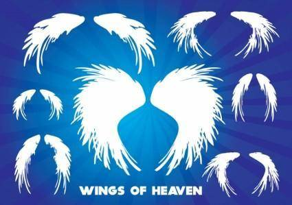 free vector Wings of Heaven