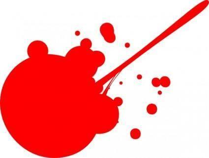 free vector Splat clip art