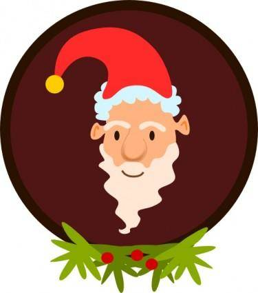 free vector Santa Clause clip art