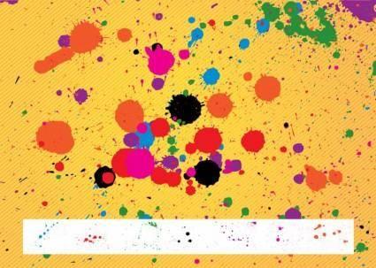 free vector Paint Splatters Pack