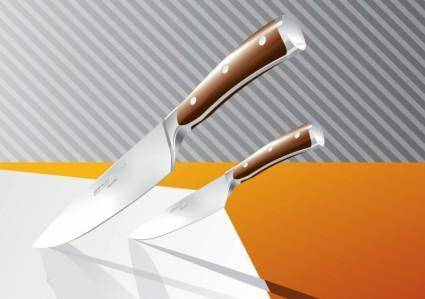 free vector Kitchen Knives