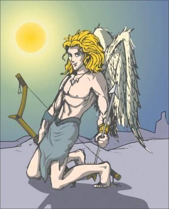 free vector Guseinstein Angel clip art