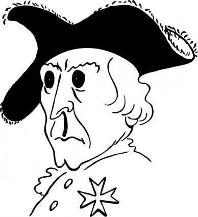 free vector Frederick The Great clip art