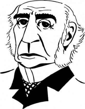 free vector William Gladstone clip art