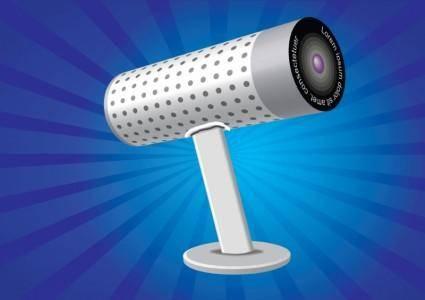 free vector Webcam Illustration