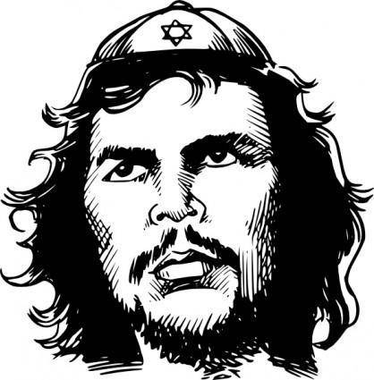 free vector Jew Guevara clip art