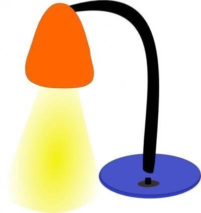 Desktop Lamp clip art