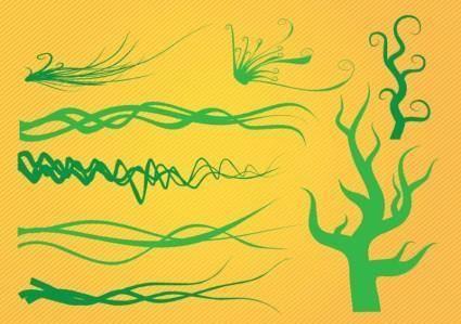 free vector Organic Plant Graphics