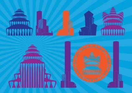 free vector Towers Graphics