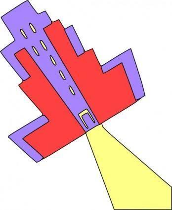 free vector Educational School University College Building clip art