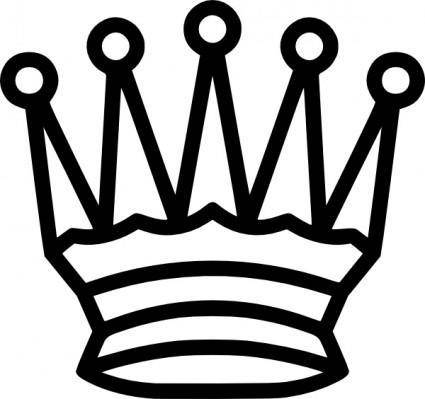 Portablejim Chess Tile Queen clip art