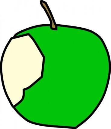 free vector Green Apple clip art