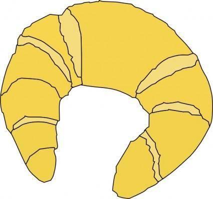 Croissant clip art