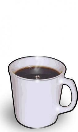 free vector Jturner Hot Cuppa Joe clip art