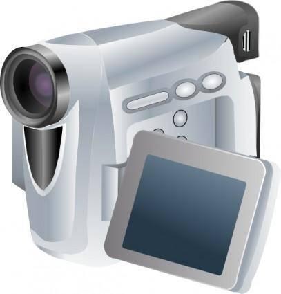 Camcorder Jh clip art