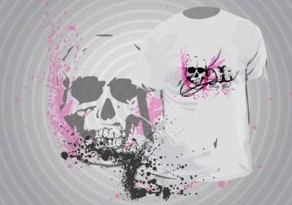 free vector Grunge T-Shirt Template