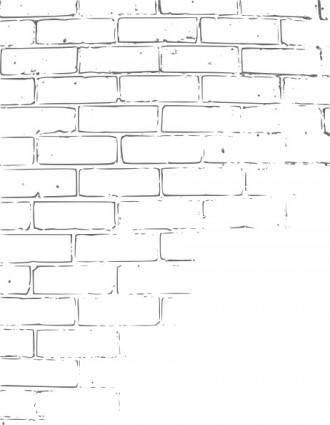 Kattekrab Brick Wall Texture clip art