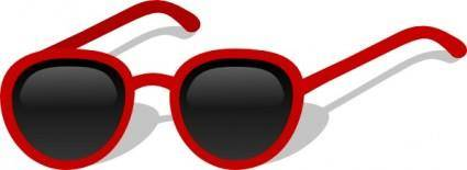 free vector Cartoon Sunglasses clip art