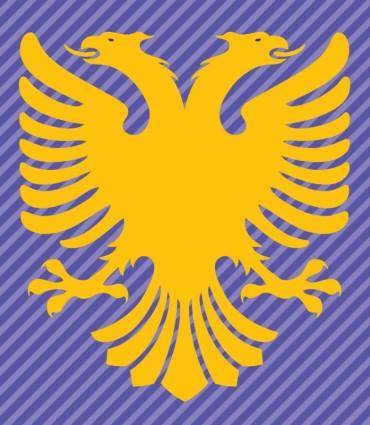 free vector Albania Flag Double Headed Eagle