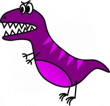 free vector Jazzynico Dino Simple T Rex clip art