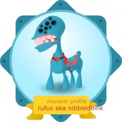 free vector Monster clip art