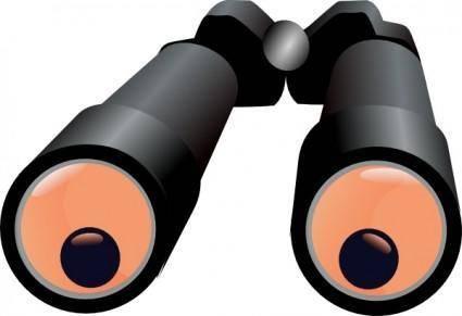 Binoculars Jh clip art