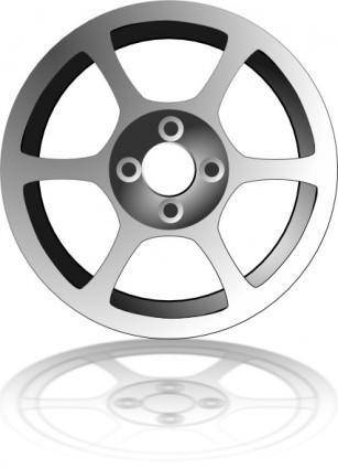 Alloy Wheel clip art