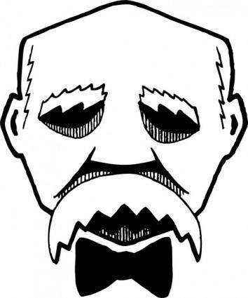 free vector Georges Clemenceau clip art