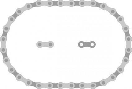 free vector Thav Bike Chain Links clip art