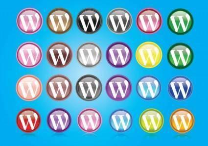 free vector Wordpress Logos
