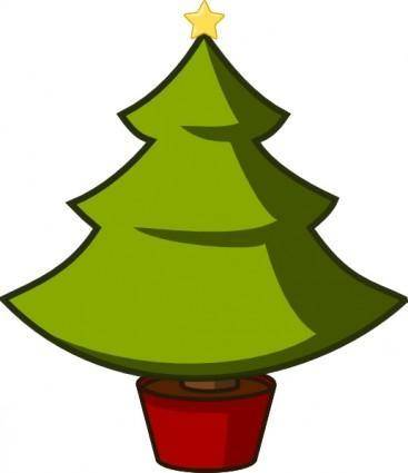 Christmas Tree clip art 103346