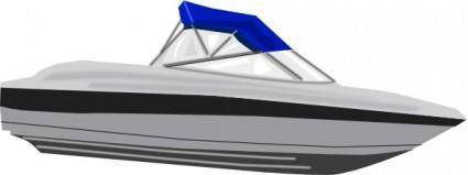 Speed Boat clip art